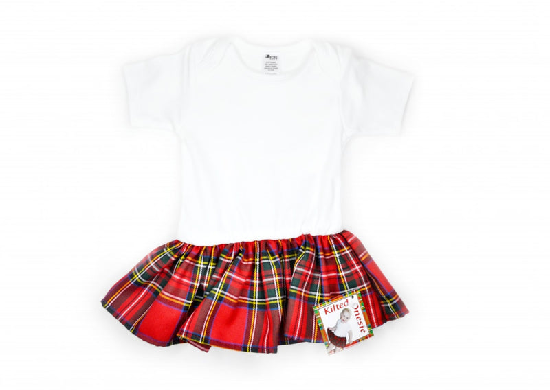 Kilted Onesie Royal Stewart - various sizes