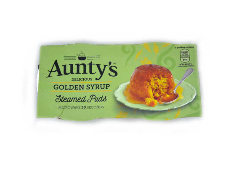 Aunty's Golden Syrup Pudding - 2 x 95g