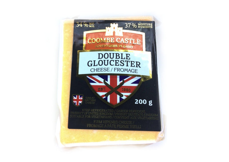 Coombe Castle Double Gloucester - 200g