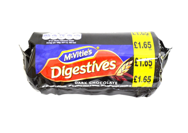 McVities Dark Chocolate Digestives - 266g