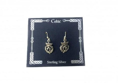 Thistle Sterling Silver Earrings
