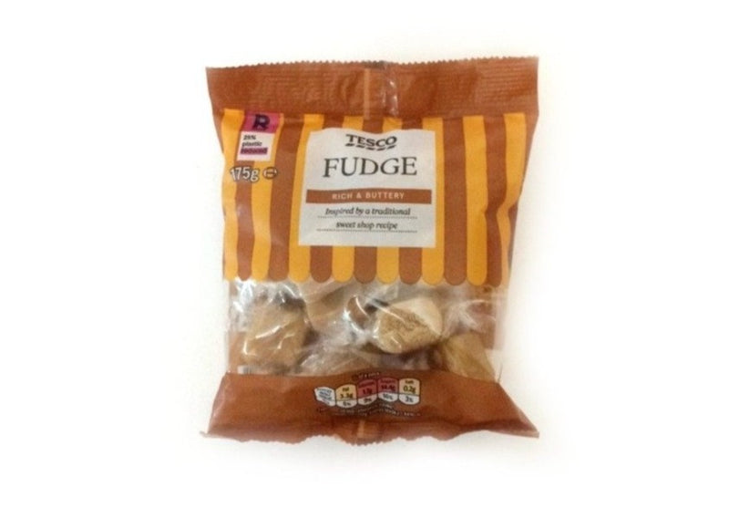 Tesco Dairy Fudge - 175g