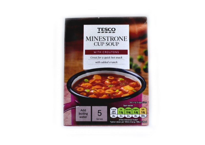 Tesco Minestrone Cup Soup - 115g