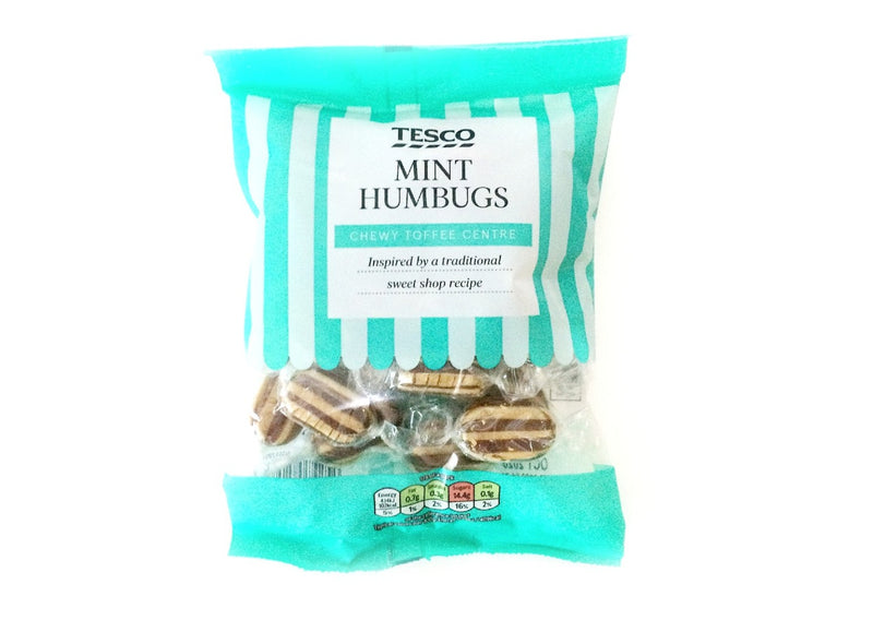Tesco Mint Humbugs - 200g
