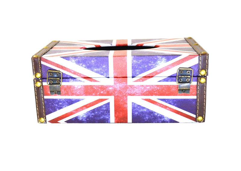 Union Jack Tissue Box