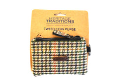 Heritage Traditions Tweed Coin Purse