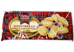 Highland Speciality Shortbread Family Assortment - 300g
