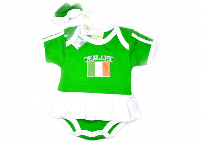 Ireland Onesie Skirt with Headband - 6 months