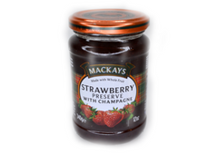 Mackays Strawberry Preserve with Champagne - 340g