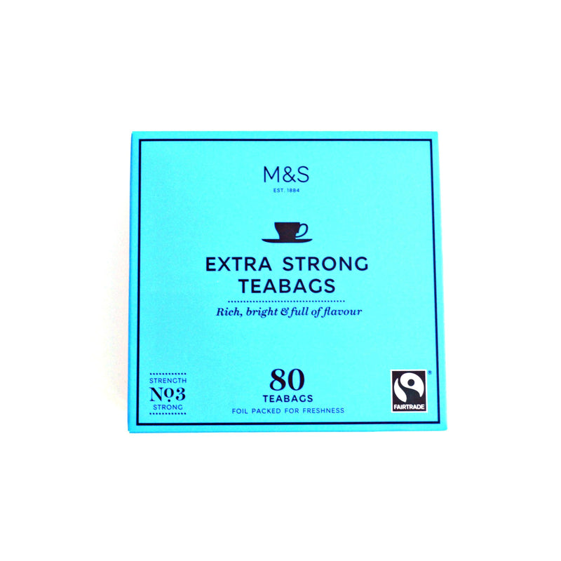 Marks and Spencer Extra Strong - 80 bags