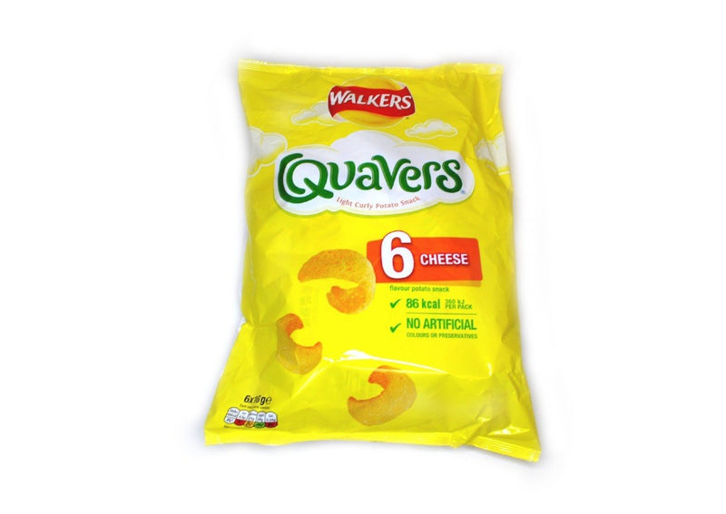 Walkers Quavers - 6pk