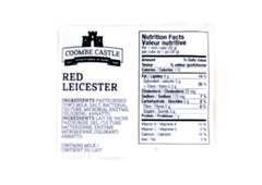 Coombe Castle Red Leicester Cheese - 200g