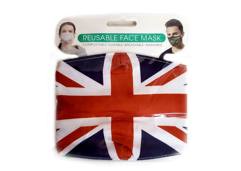Union Jack Mask - 2 layers