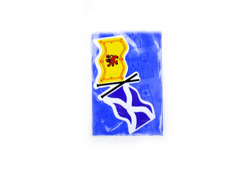 Scotland Saltire / Rampant Lion Sticker