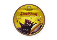 Simpkins Dark Cherry Chocolate Centred Drops - 175g