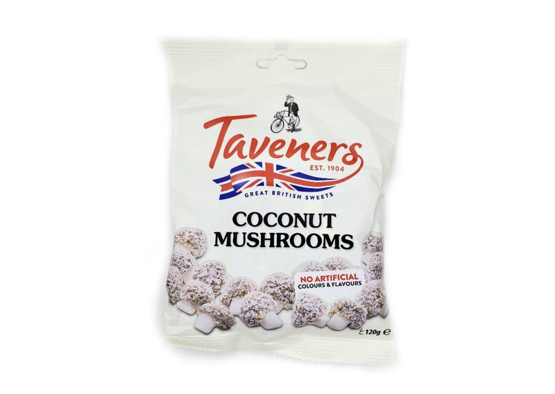 Taveners Coconut Mushrooms - 120g