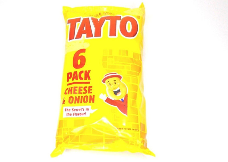Tayto Cheese & Onion - 6pk