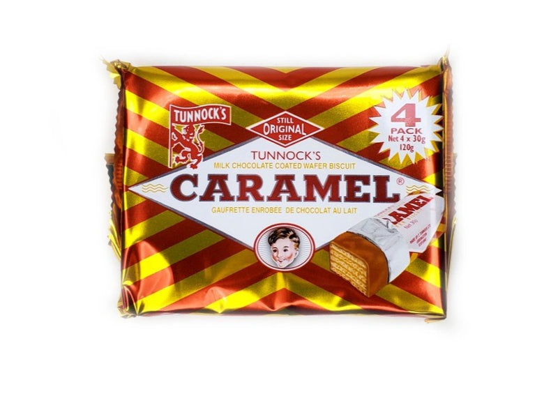 Tunnocks Milk Chocolate Wafers - 4pk
