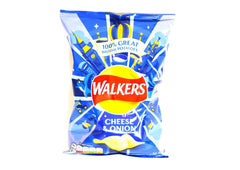 Walkers Cheese & Onion Crisps - 32.5g