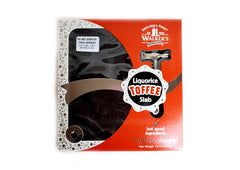 Walkers Liquorice Toffee Slab with Hammer - 400g