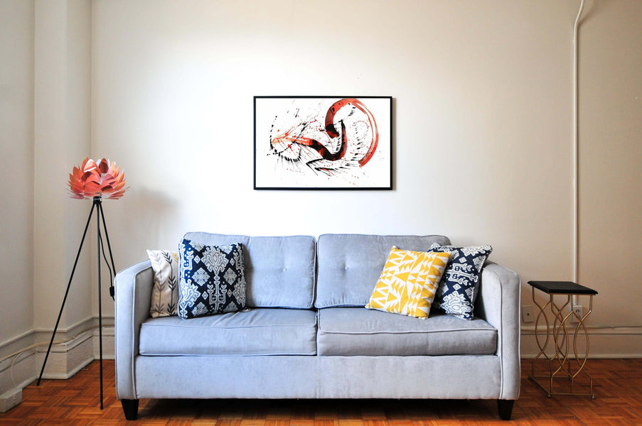 5 ways to display art on walls