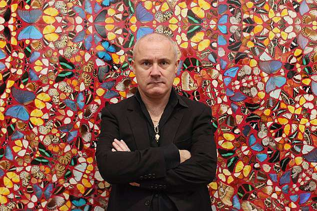 Damien Hirst inside outside