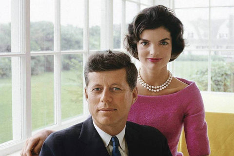 JOHN FITZGERALD KENNEY, JAQUELINE BOUVIER, THE KENNEDY YEARS EXHIBITION,