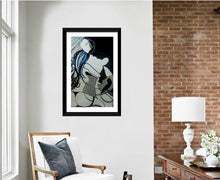 Load image into Gallery viewer, BACKSIDE WOMAN PAINTING ORIGINAL SIGNED NUDE FEMALE EROTIC BEHIND BODY - Arterama's