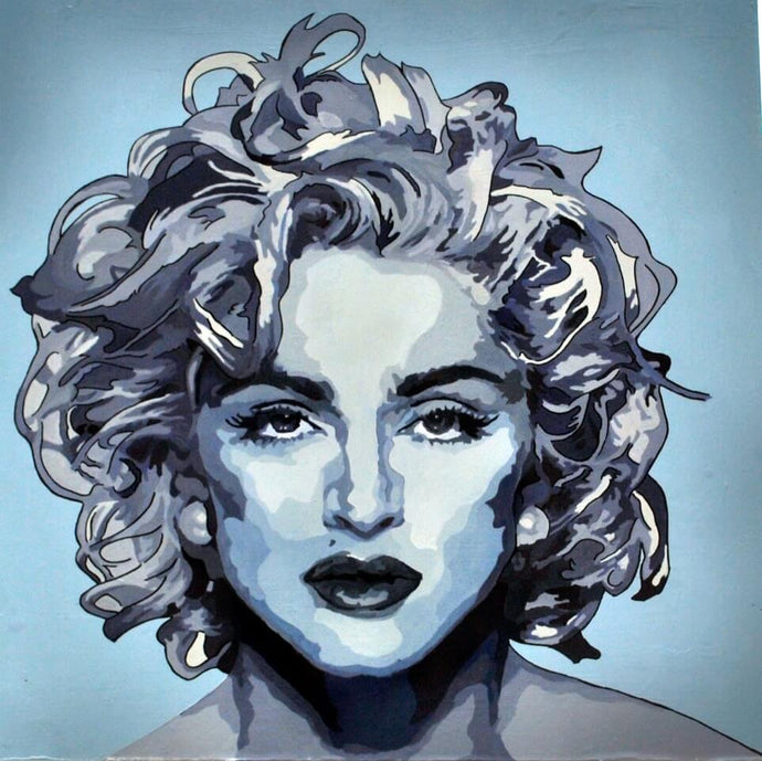 MADONNA MUSIC POPSTAR PORTRAIT ORIGINAL POP ART SIGNED - Arterama's
