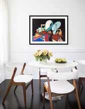 Load image into Gallery viewer, TRIBUTE TO GIORGIO DE CHIRICO PAINTING ORIGINAL VINTAGE SIGNED - Arterama's