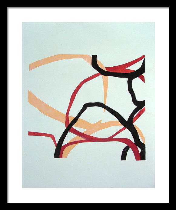TARAB ORIGINAL MODERN ABSTRACT ACRYLIC PAINTING SIGNED ECSTASY QUIET - Arterama's