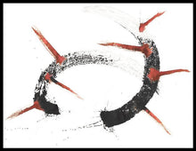 Load image into Gallery viewer, TAUROMACHY ORIGINAL SIGNED ABSTRACT DRAWING SIGNED BULLFIGHTING BLOOD - Arterama's