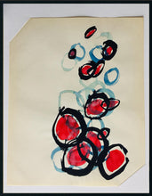 Load image into Gallery viewer, YUANFEN ORIGINAL ABSTRACT WATERCOLOR PAINTING SIGNED SERENDIPITY FATE - Arterama's