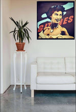 Load image into Gallery viewer, AVA GARDNER SIGNED PORTRAIT ORIGINAL PAINTING SEX SYMBOL GLAMOUR 50s - Arterama's