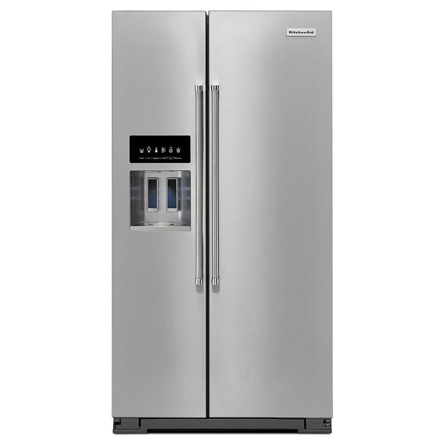 Whirlpool 28.4-cu Ft Side-by-Side Refrigerator With Ice