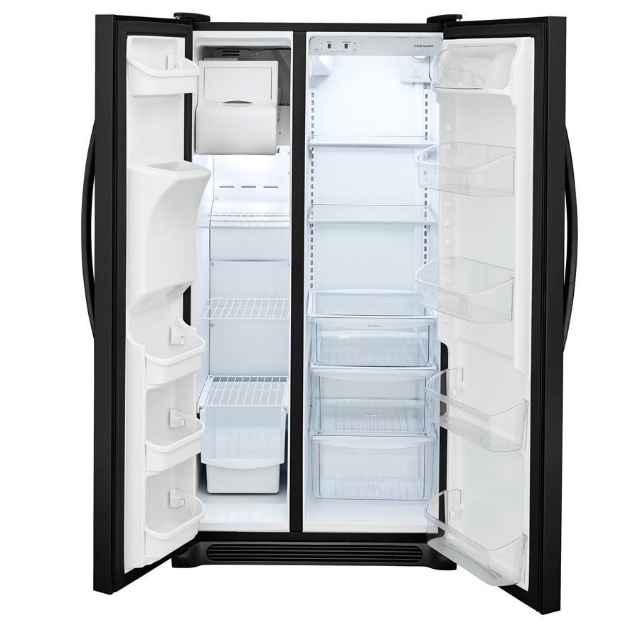 Frigidaire 25.5-cu Ft Side-by-Side Refrigerator With Ice