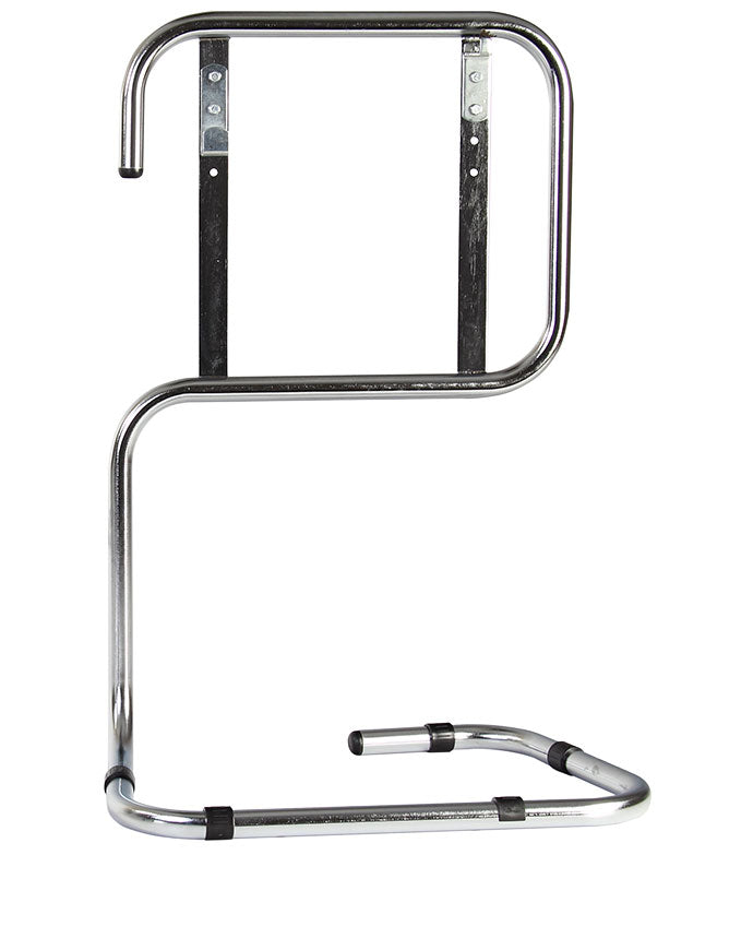 Double Tubular Extinguisher Stand Chrome