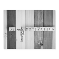 De-Motivation - Inspirational Wall Art, Office Wall Art, Office Decor, Office Wall, Office Wall Decor