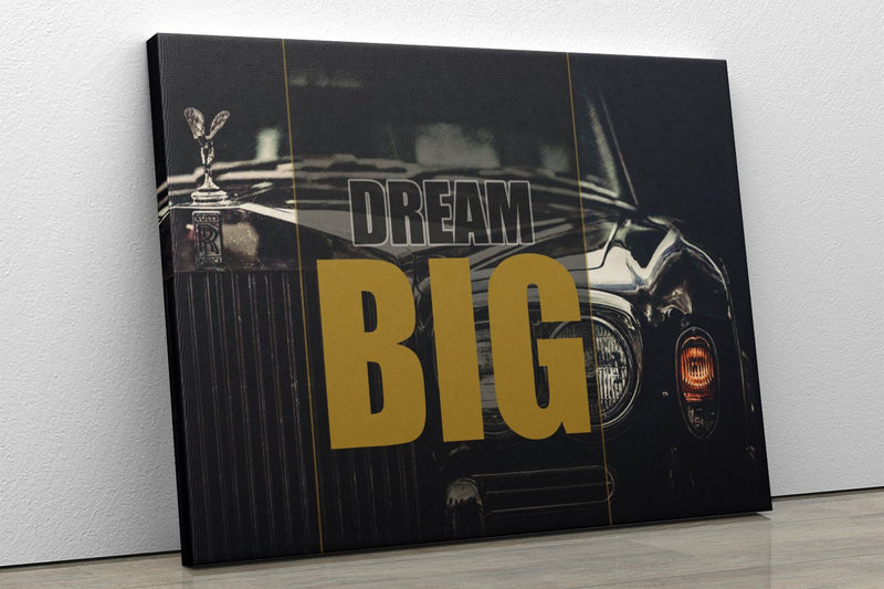 DREAM BIG: CanvasMafia Inspirational Canvas Wall Art for Office and Home Decor