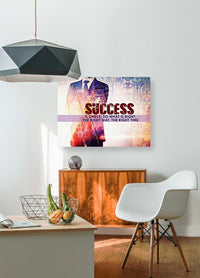 Motivational Canvas Art - SUCCESS IS SIMPLE...