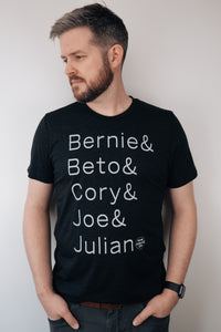 2020 democratic men tee (unisex)