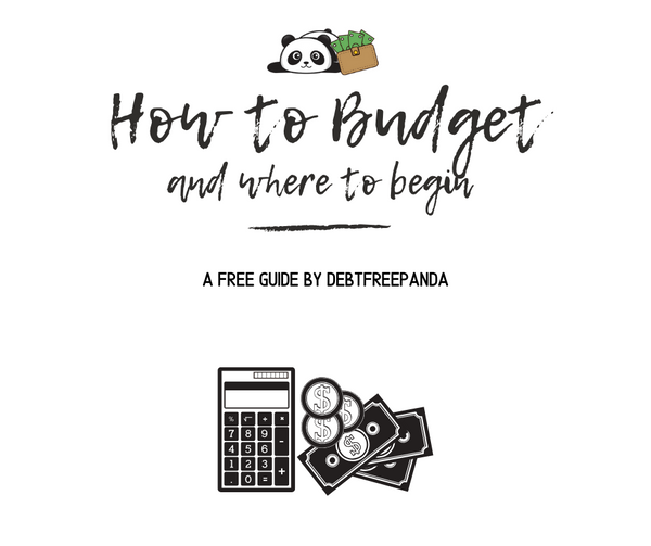 FREE How to Budget Guide | with Monthly and Paycheck Trackers!