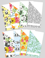 Printable | Panda Floral Cash Envelopes (LIMITED EDITION) | with free blank template!