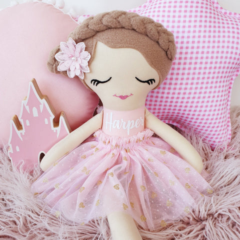 Personalized Rag Doll - Lucy