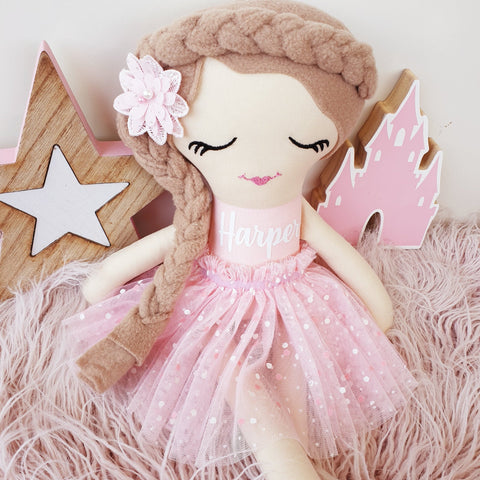 Personalised Rag Doll - Bella