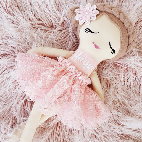 Handmade Cloth Doll - Ava