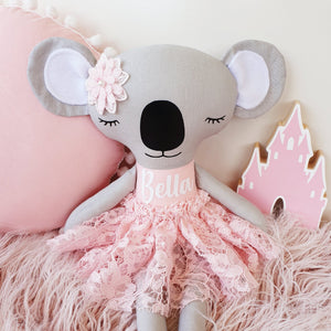 Personalised Koala Rag Doll - Lacey