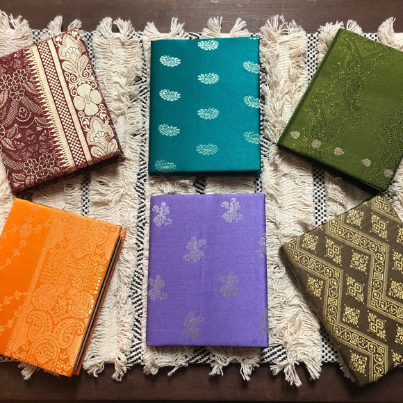 Pocket Journals - Silk Sari