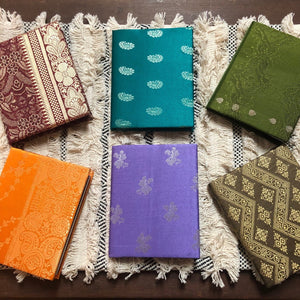 Pocket Journal - Silk Sari