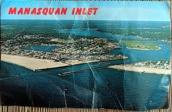 The Jersey Shore Postcard Series - Manasquan Inlet (2 of 4)